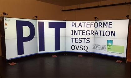 Inauguration de la plateforme d'intégration et de tests (PIT) de l'Observatoire de Versailles Saint-Quentin-en-Yvelines